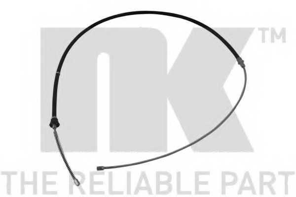 Трос стояночной тормозной системы NK 904322 - изображение