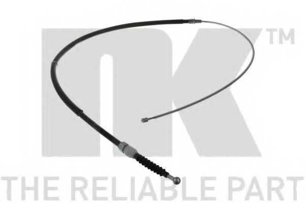 Трос стояночной тормозной системы NK 904328 - изображение