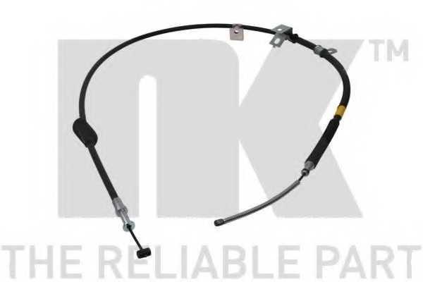 Трос стояночной тормозной системы NK 904404 - изображение