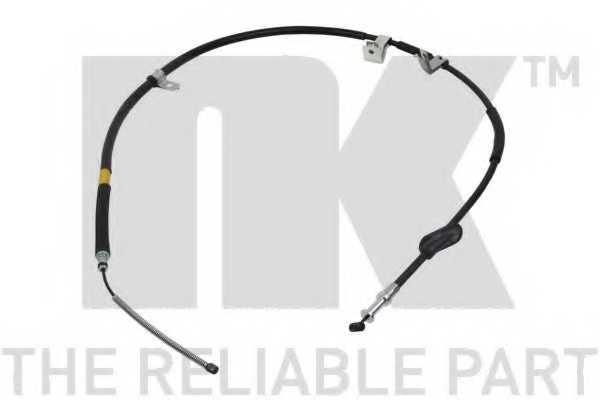 Трос стояночной тормозной системы NK 904407 - изображение