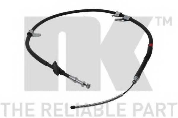 Трос стояночной тормозной системы NK 904410 - изображение