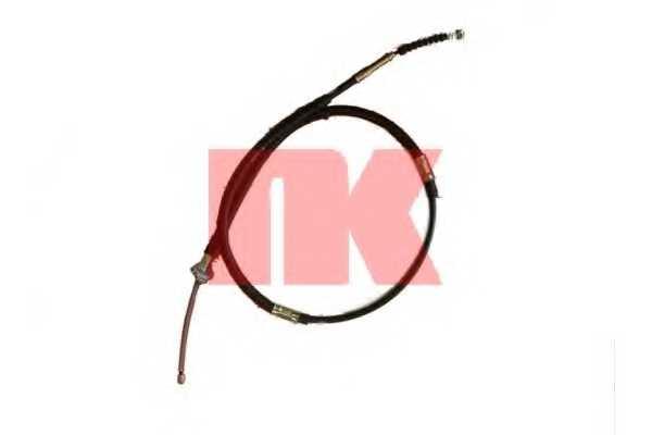 Трос стояночной тормозной системы NK 9045139 - изображение