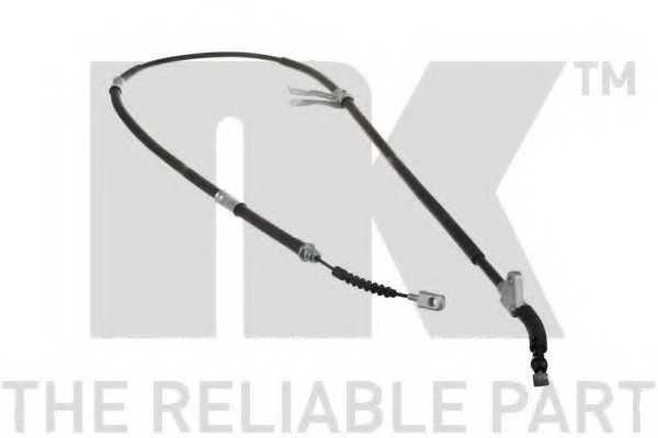 Трос стояночной тормозной системы NK 9045146 - изображение