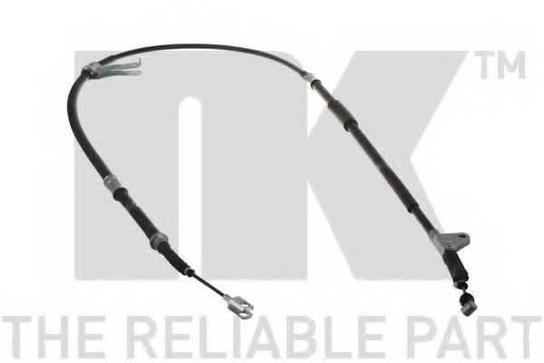 Трос стояночной тормозной системы NK 9045147 - изображение