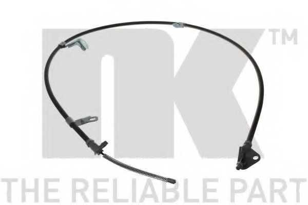 Трос стояночной тормозной системы NK 9045148 - изображение