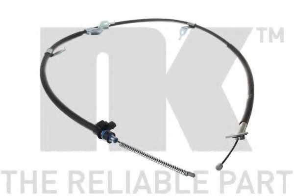 Трос стояночной тормозной системы NK 9045159 - изображение