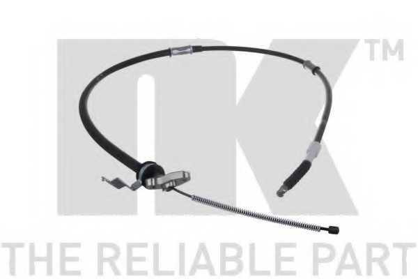 Трос стояночной тормозной системы NK 9045162 - изображение