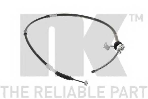 Трос стояночной тормозной системы NK 9045163 - изображение
