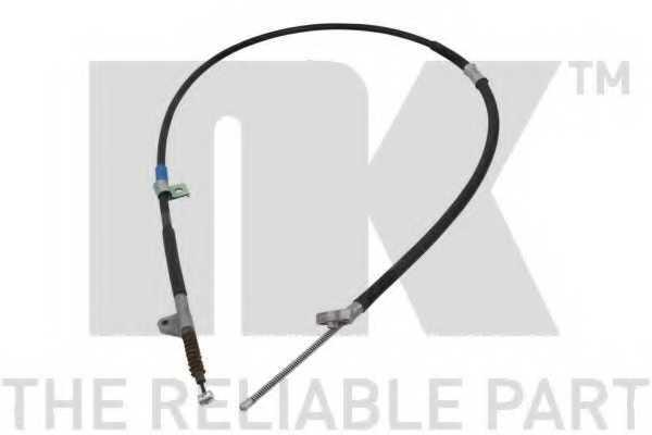 Трос стояночной тормозной системы NK 9045170 - изображение