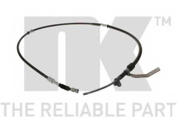 Трос стояночной тормозной системы NK 9045176 - изображение
