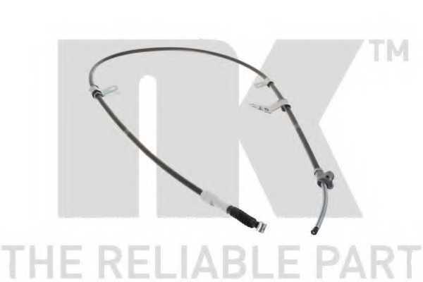 Трос стояночной тормозной системы NK 9045180 - изображение