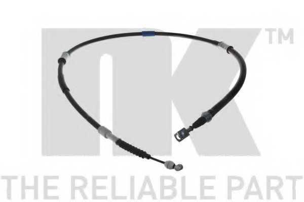 Трос стояночной тормозной системы NK 9045182 - изображение