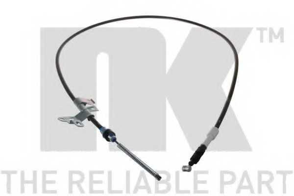 Трос стояночной тормозной системы NK 9045184 - изображение