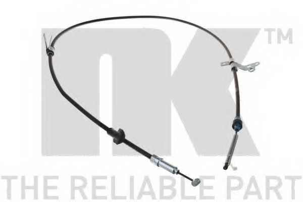 Трос стояночной тормозной системы NK 9045189 - изображение