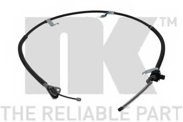 Трос стояночной тормозной системы NK 9045192 - изображение
