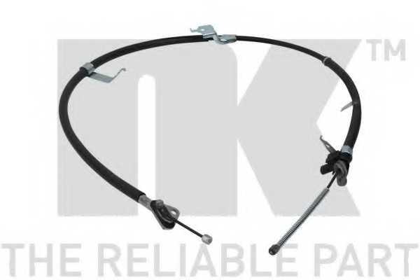 Трос стояночной тормозной системы NK 9045193 - изображение