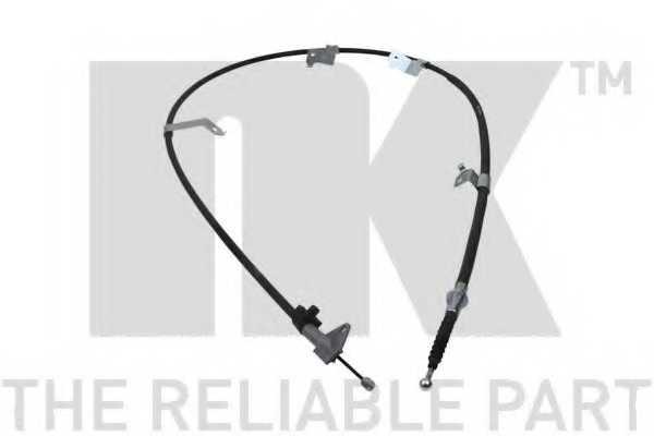 Трос стояночной тормозной системы NK 9045195 - изображение