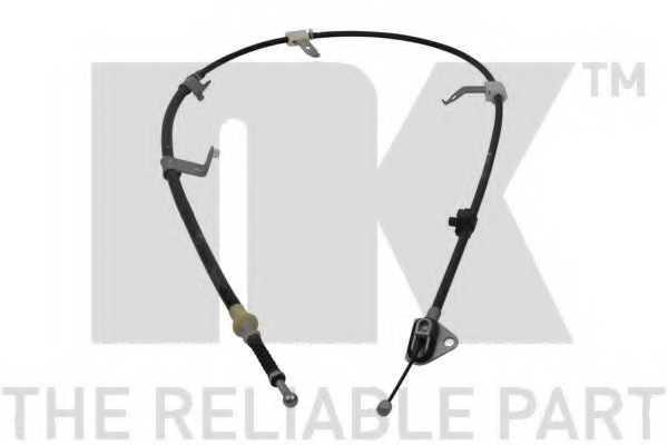 Трос стояночной тормозной системы NK 9045198 - изображение