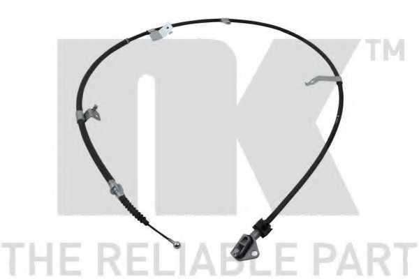 Трос стояночной тормозной системы NK 9045204 - изображение