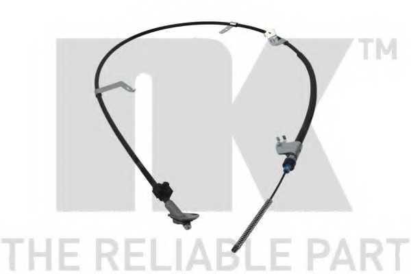 Трос стояночной тормозной системы NK 9045209 - изображение