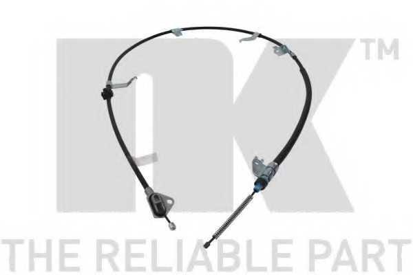 Трос стояночной тормозной системы NK 9045210 - изображение