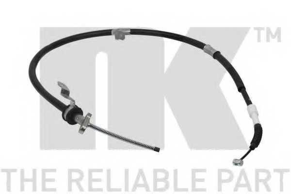 Трос стояночной тормозной системы NK 9045220 - изображение