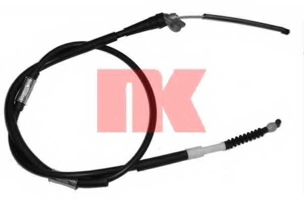 Трос стояночной тормозной системы NK 904568 - изображение
