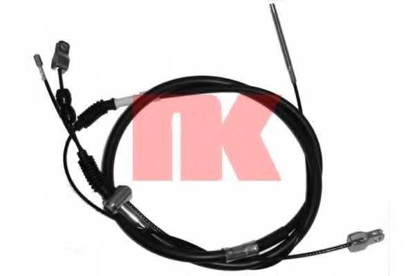 Трос стояночной тормозной системы NK 904587 - изображение