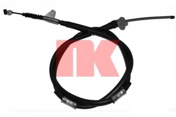 Трос стояночной тормозной системы NK 904590 - изображение