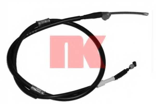 Трос стояночной тормозной системы NK 904592 - изображение