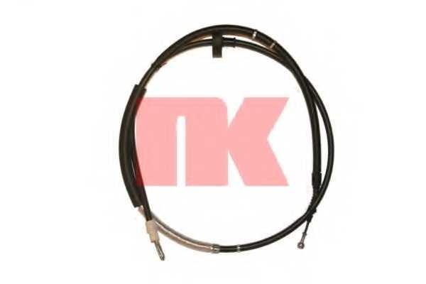 Трос стояночной тормозной системы NK 9047100 - изображение