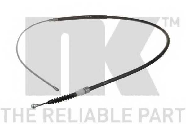 Трос стояночной тормозной системы NK 9047111 - изображение