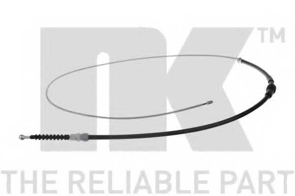 Трос стояночной тормозной системы NK 9047124 - изображение