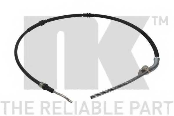Трос стояночной тормозной системы NK 9047127 - изображение
