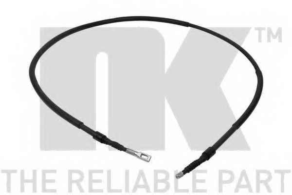 Трос стояночной тормозной системы NK 9047147 - изображение