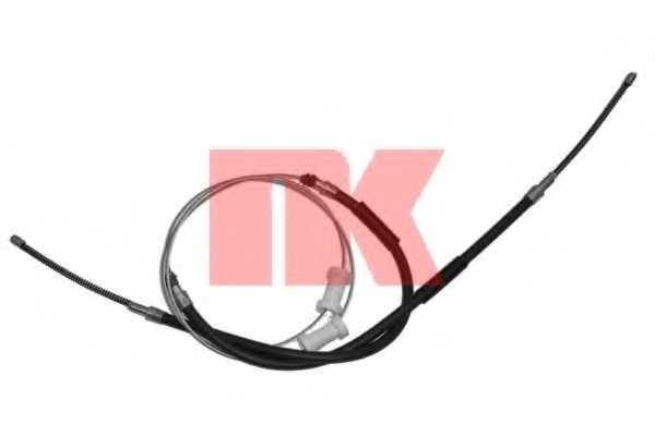 Трос стояночной тормозной системы NK 904737 - изображение