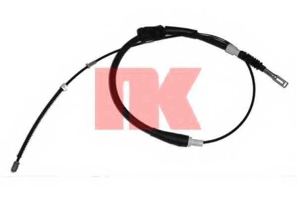 Трос стояночной тормозной системы NK 904746 - изображение