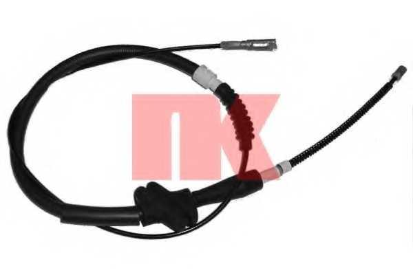 Трос стояночной тормозной системы NK 904747 - изображение