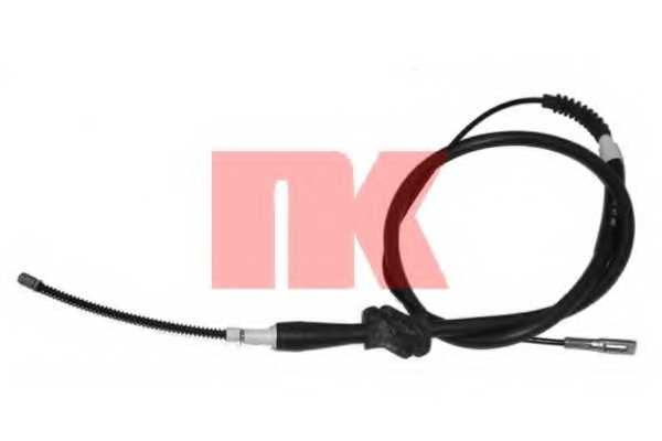 Трос стояночной тормозной системы NK 904748 - изображение