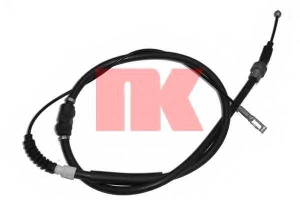 Трос стояночной тормозной системы NK 904753 - изображение
