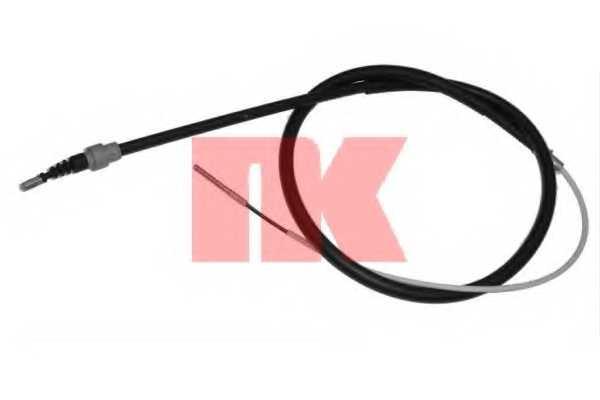 Трос стояночной тормозной системы NK 904755 - изображение