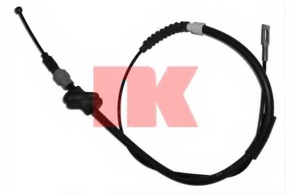 Трос стояночной тормозной системы NK 904757 - изображение