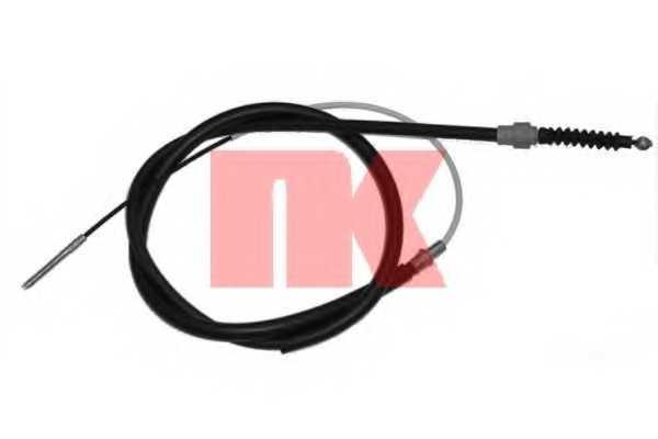 Трос стояночной тормозной системы NK 904762 - изображение