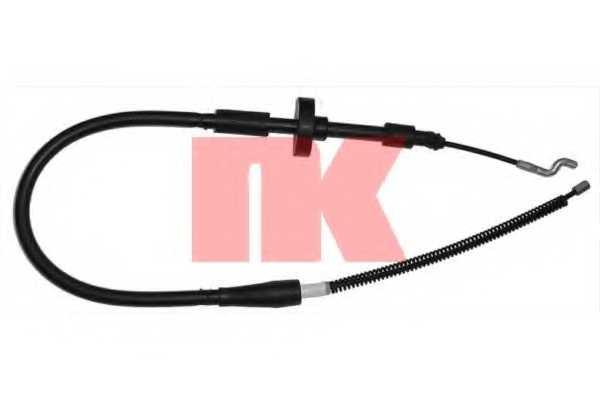 Трос стояночной тормозной системы NK 904763 - изображение