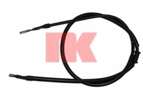 Трос стояночной тормозной системы NK 904765 - изображение