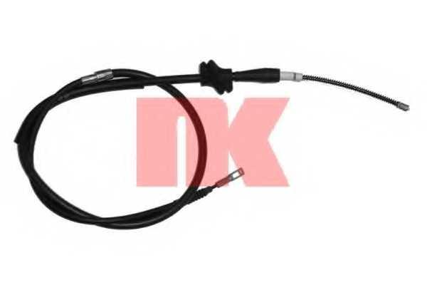 Трос стояночной тормозной системы NK 904770 - изображение
