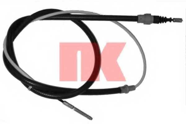 Трос стояночной тормозной системы NK 904773 - изображение