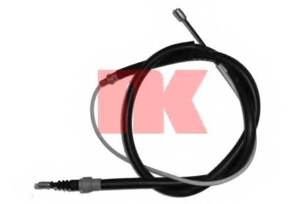 Трос стояночной тормозной системы NK 904774 - изображение