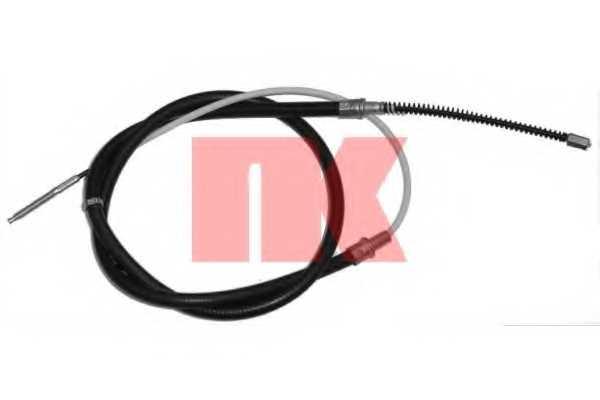 Трос стояночной тормозной системы NK 904782 - изображение