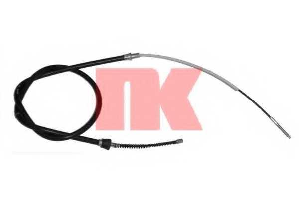 Трос стояночной тормозной системы NK 904786 - изображение